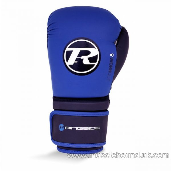 Workout Series Glove Blue / Black / White