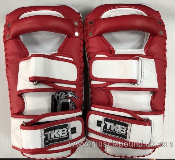 new arrival 2019 topking thai pads red / white sides