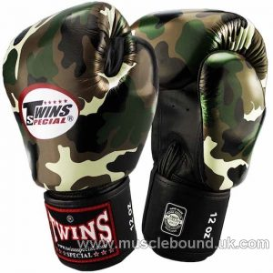 TOPKING CAMO, GREEN GLOVES