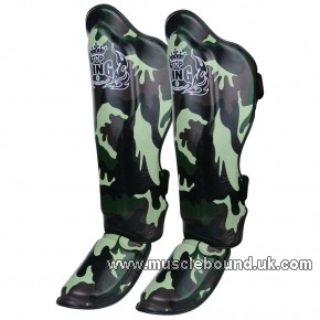 TOPKING ShinGuards - Army Green