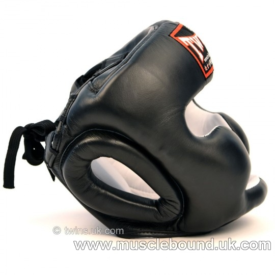 Twins Black Sparring Headguard