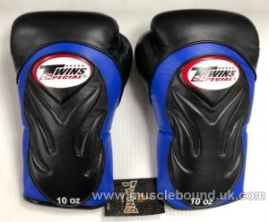 New TWINS BGVL 6 BLACK/ BLUE SPECIAL BOXING GLOVES ?