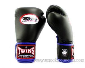 New BGVLA-1 Twins black/blue Air Boxing Gloves