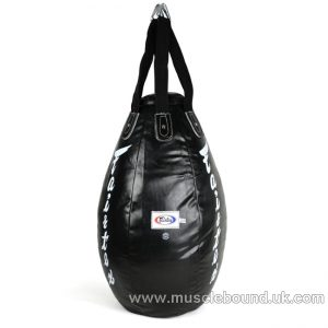 HB15 Fairtex Black Super Teardrop Bag (FILLED)