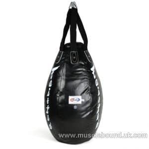HB15 Fairtex Black Super Teardrop Bag (FILLED)