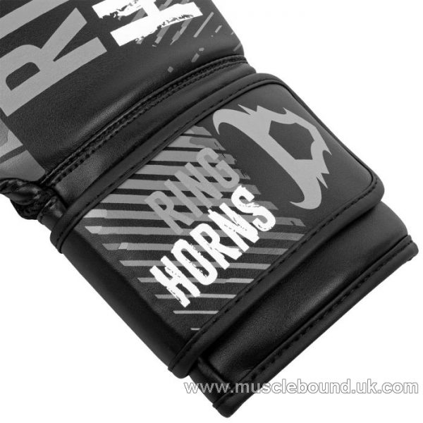 RINGHORNS CHARGER CAMO BOXING GLOVES - BLACK/GREY