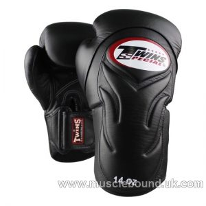 New BGVL-6 black/ black TWINS SPECIAL BOXING GLOVES