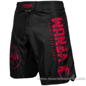 Venum Signature Fightshorts - Black/Red