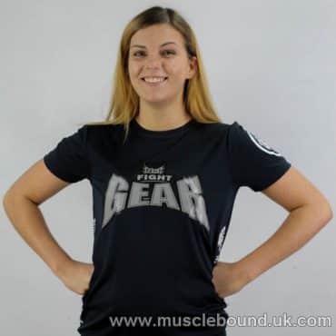 no1 fight gear t-shirt navy