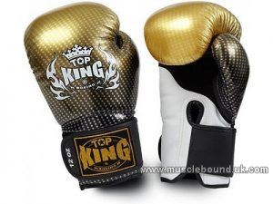 Top King Super Stars Boxing Gloves gold