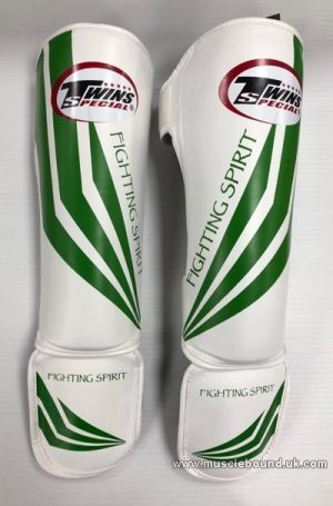 SGL-3 Twins Slim Padded Shin Pads Fighting spirt