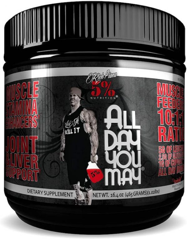 ALL DAY YOU MAY BCAAs 30 SERVINGS Fruit Punch