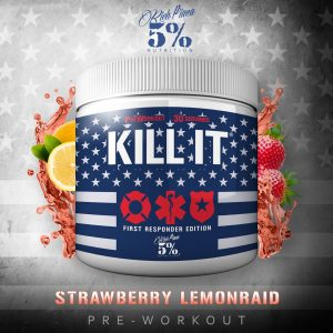 Kill It First Responders Pre Workout Strawberry Lemonraid