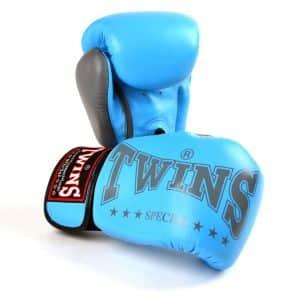 BGVL3 2TA Twins Light Blue Grey 2 Tone Boxing Gloves