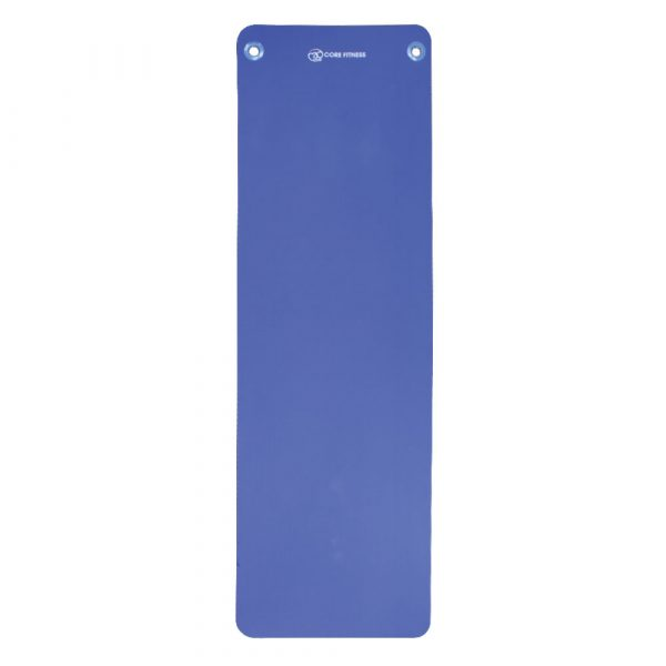 Yoga Mad ALIGN-PILATES PILATES MAT 10MM WITH EYELETS Blue