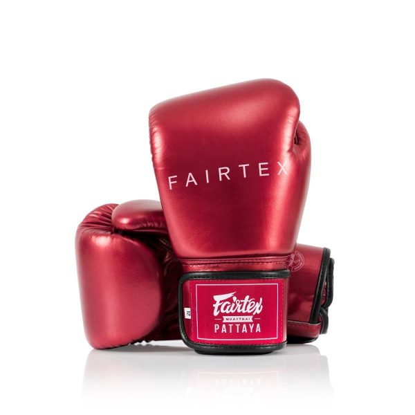 METALLIC BOXING GLOVES RED GREEN PURPLE