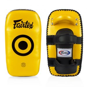 KPLC5 FAIRTEX GOLD LIGHT WEIGHT THAI KICK PADS