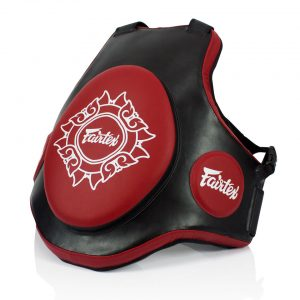 TV2 FAIRTEX TRAINERS VEST BLACK-RED