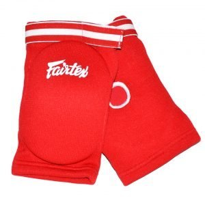 EBE1 Fairtex Red Competition Elbow Pads