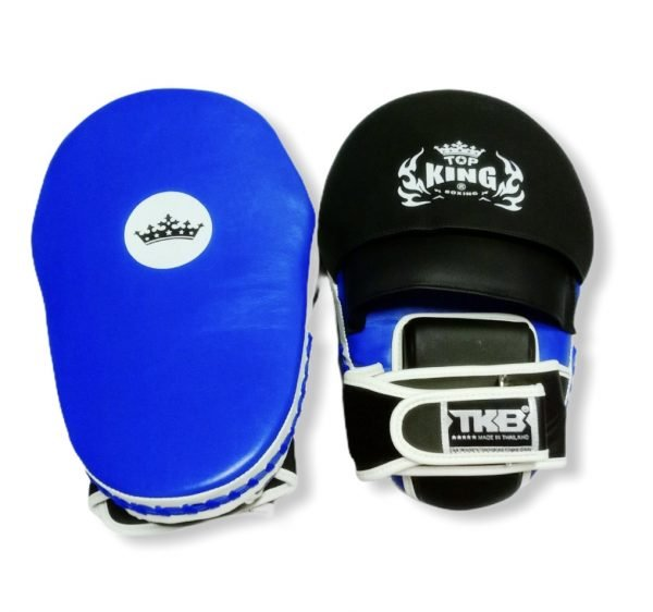 TOP KING FOCUS MITTS EXTREME BLUE/SIDE WHITE/BLACK