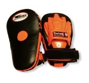 PML-19 TWINS LONG FOCUS MITTS BLACK/ORANGE