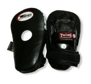 PML-19 TWINS LONG FOCUS MITTS BLACK/BLACK