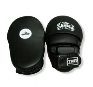 TOP KING FOCUS MITTS EXTREME BLACK/ SIDE BLACK/ BLACK