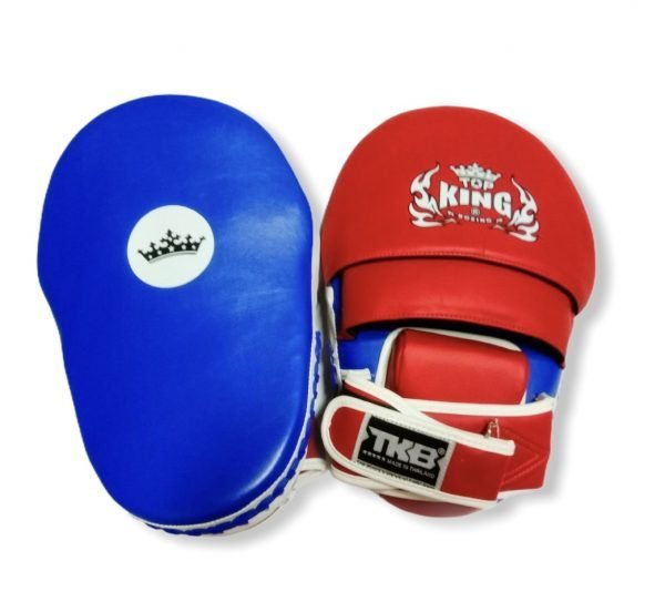 TOP KING FOCUS MITTS EXTREME BLUE/SIDE WHITE/RED