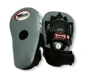 PML-19 TWINS LONG FOCUS MITTS GREY/BLACK
