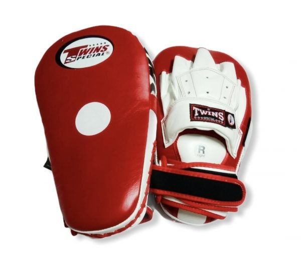 PML-19 TWINS LONG FOCUS MITTS RED/WHITE