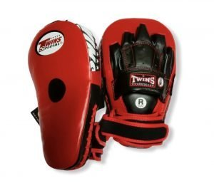 PML-19 TWINS LONG FOCUS MITTS RED/BLACK
